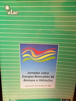 JORNADAS SOBRE ENERGÍAS RENOVABLES 86 Biomasa e