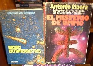 EL MISTERIO DE UMMO + DIOSES EXTRATERRESTRES (2 libros): ANTONIO RIBERA // JEAN SENDY