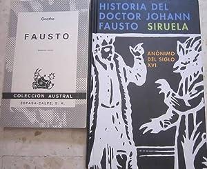 Historia del doctor Johann Fausto (anónimo del: Anónimo // Goethe