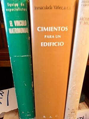 CIMIENTOS PARA UN EDIFICIO Santa Rafaela María del Sagrado Corazón + HOMBRE Y MUJER ...