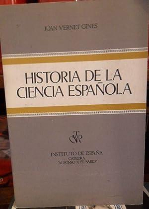 HISTORIA DE LA CIENCIA ESPAÑOLA: JUAN VERNET GINÉS