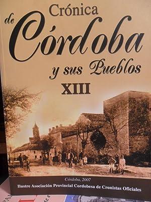 CRÓNICA DE CÓRDOBA Y SUS PUEBLOS XIII