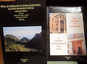 REAL ACADEMIA DE CULTURA VALENCIANA. AULA DE: VV.AA.// VORO LÓPEZ