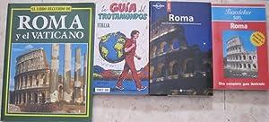Roma (Baedeker SGEL) + Roma. Todo lo que necesita saber para disfrutar de su viaje (Lonely Planet ...
