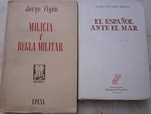 Milicia y regla militar (Jorge Vigón) +