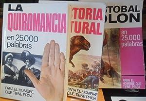 CRISTÓBAL COLÓN EN 25000 PALABRAS 55+ LA: L. RAMÍREZ //