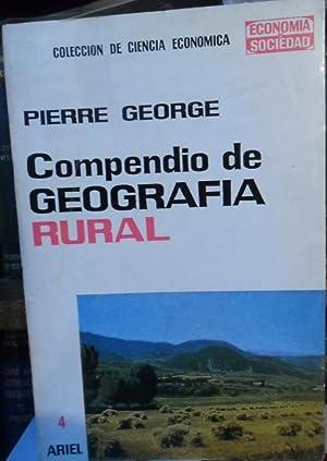 COMPENDIO DE GEOGRAFÍA RURAL: PIERRE GEORGE