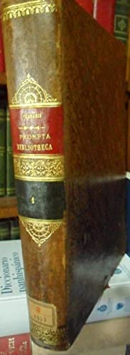 PROMPTA BIBLIOTHECA CANONICA JURIDICA MORALIS THEOLOGICA nec: F. LUCII FERRARIS