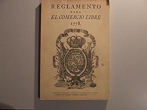 REGLAMENTO PARA EL COMERCIO LIBRE 1778