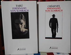 CRÍMENES + TABÚ (2 libros): FERDINAND VON SCHIRACH