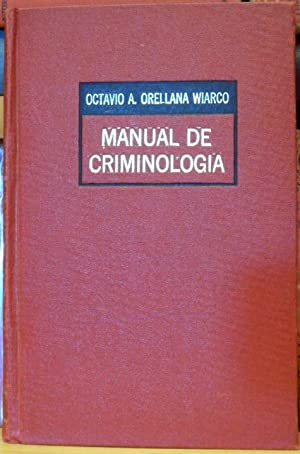 Manual de criminología