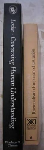 Historia de la filosofia 6: Racionalismo, Empirismo, Ilustración + An Essay Concerning Human...