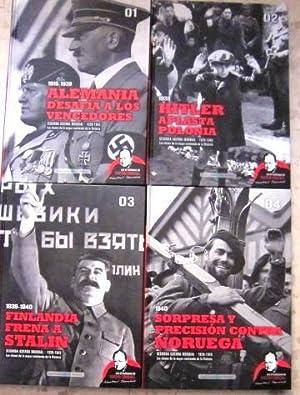 Segunda guerra mundial (Biblioteca El Mundo). Tomo 1. Alemania desafia a los vencedores. Tomo 2. ...