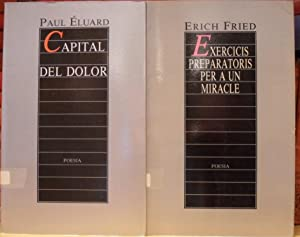 CAPITAL DEL DOLOR + EXERCICIS PREPARATORIS PER A UN MIRACLE (2 libros)