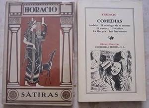 Sátiras (de Horacio) + Comedias (de Terencio) [2 libros]
