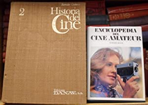 Historia del cine Tomo 2 + Enciclopedia del cine amateur (2 libros): Román Gubern // M. Pierre ...