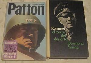 Patton + Rommel, el zorro del desierto (2 libros): Charles Whiting // Desmond Young
