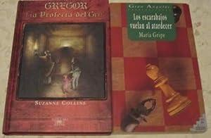 Gregor, la profecía del gris + Los escarabajos vuelan al atardecer (2 libros): Suzanne ...