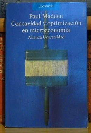 Concavidad y optimización en microeconomía: Paul Madden