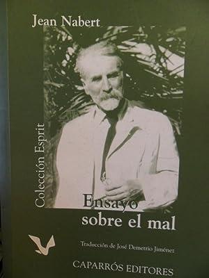 ENSAYO SOBRE EL MAL: JEAN NABERT
