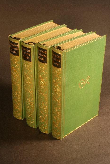 Gesammelte Werke in vier Bänden.: Keller, Gottfried, 1819-1890