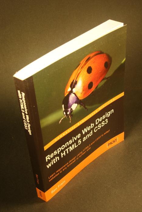 Ben Frain Responsive Web Design Html5 Css3 Abebooks