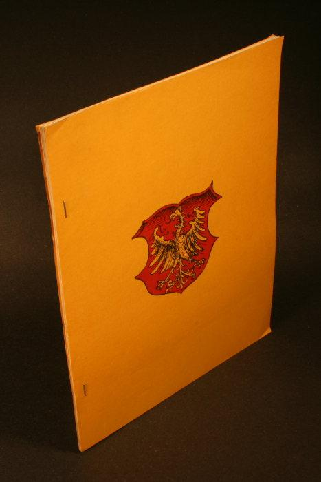 Die wunderbare Neue Welt: German Works in: Kramer, Ilse E.