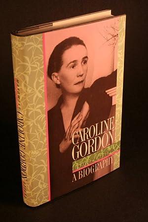 Caroline Gordon: a biography.: Makowsky, Veronica A.