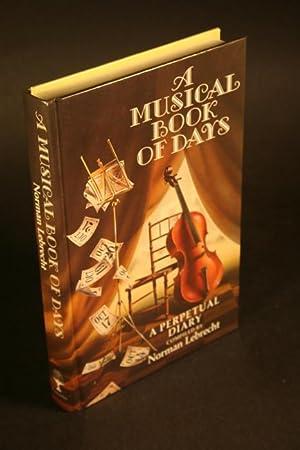 Musical Book of Days: Lebrecht, Norman