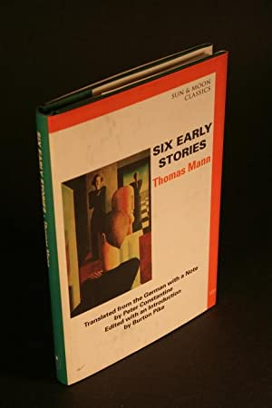 Six early stories.: Mann, Thomas, 1875-1955