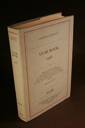 Leo Baeck Institute Yearbook, 43, 1998.: Leo Baeck Institute
