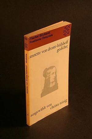 Gedichte.: Droste-Hülshoff, Annette von,