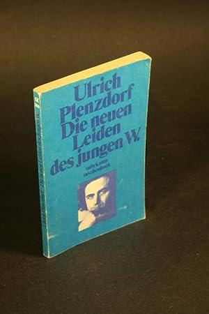 Die neuen Leiden des jungen W.: Plenzdorf, Ulrich, 1934-2007