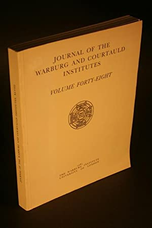 Journal of the Warburg and Courtauld Institutes.: Warburg Institute