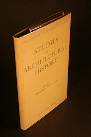 Studies in architectural history.: Singleton, William A.,