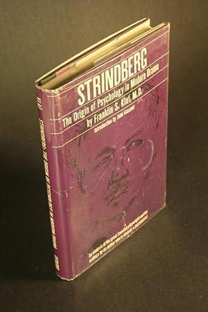 Strindberg. The origin of psychology in modern: Klaf, Franklin S.