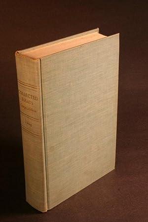 Collected essays.: Lichtheim, George, 1912-1973