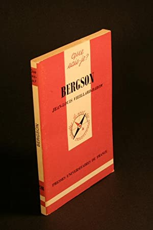 Bergson.: Vieillard-Baron, Jean-Louis, 1944-