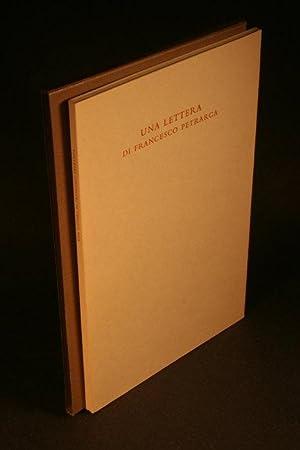 Lettera a Giovanni Anchiseo : [lo incarica: Petrarca, Francesco, 1304-1374