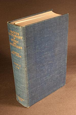 Grove's dictionary of music and musicians. Volume: Blom, Eric, 1888-1959,