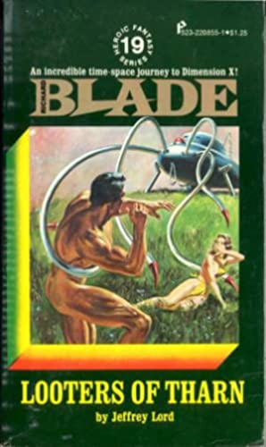 Richard Blade #19: Looters of Tharn