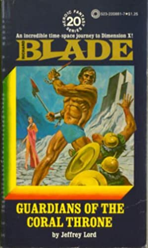 Richard Blade #20: Guardians of the Coral Throne