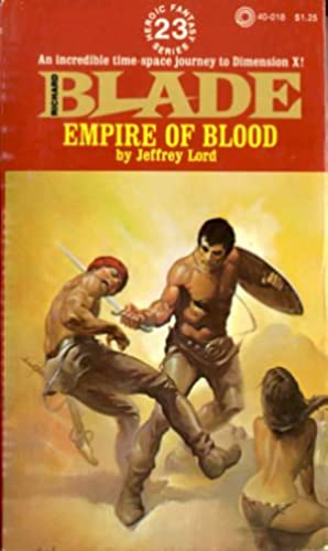 Richard Blade #23: Empire of Blood