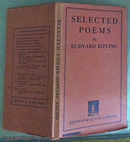 Selected Poems From Rudyard Kipling