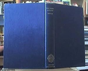 the King's English: Fowler, H. W.