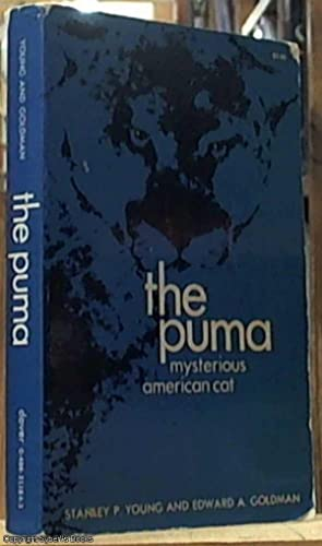 The Puma; Mysterious American Cat (Part 1: Young, Stanley P.