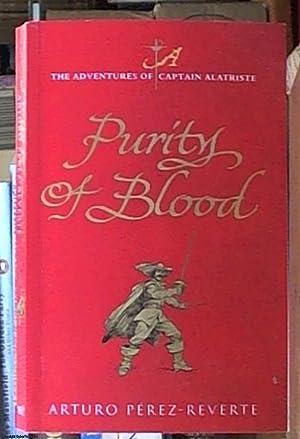 Purity of Blood: Perez-Riverte, Arturo