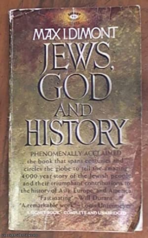 Jews, God and history: Dimont, Max Isaac