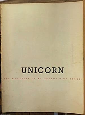 The Unicorn (The Magazine of Melbourne High: Not Stated