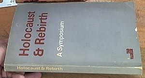 Holocaust & rebirth - a symposium: Talman, Y. L.